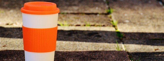 Kaffee-to-go Thermobecher